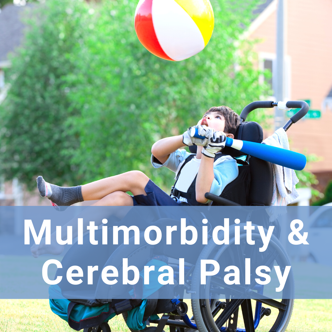 Hover for more information about multimorbidity and cerebral palsy
