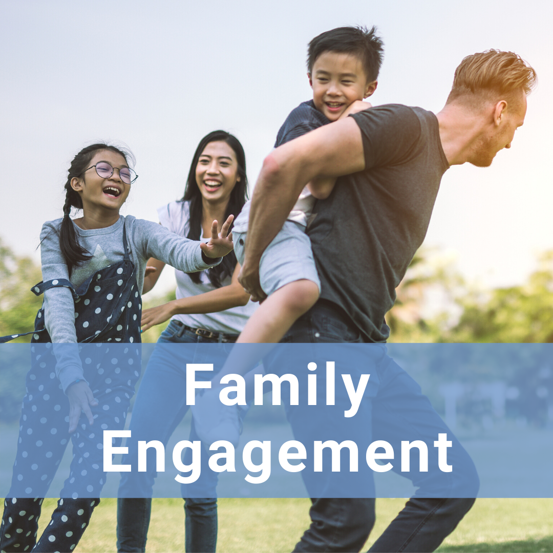 Hover for more information about Family Engagement in Research