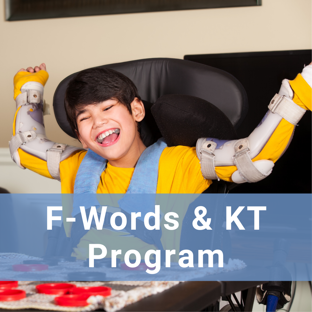 Hover for more information about the F-Words for Child Development