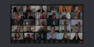 CanChild Team on a Zoom meeting