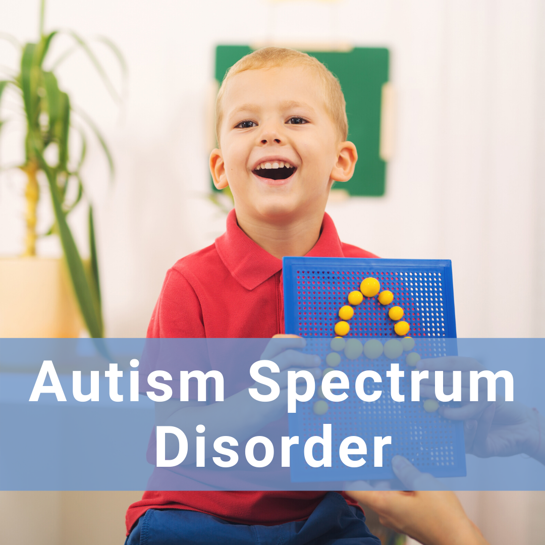Hover for more information about Autism Spectrum Disorder